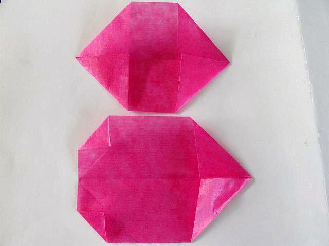 ハート 折り紙:折り紙 万華鏡 作り方-youkohime-1.cocolog-nifty.com